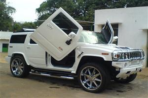 White H2 Hummer Car Wallpapers Download