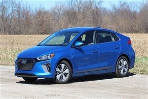 2018 Hyundai Ioniq Blue Car