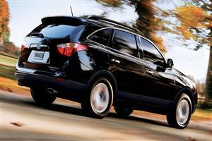 Black Hyundai Veracruz HD Car Wallpaper
