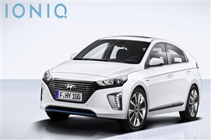 Hyundai Ioniq 2017 HD Car Wallpapers