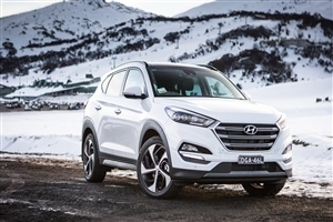 Latest 2018 Hyundai Tucson White Car