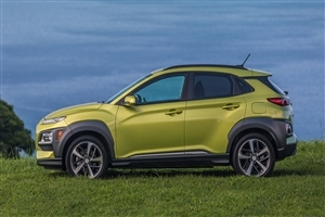 New 2018 Hyundai Kona Yellow Car