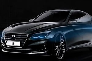 Superb Hyundai Azera Black Car