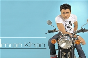 Bollywood Film Actor Imran Khan on Bike HD Wallpapers