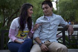 Kareena Kapoor with Imran on Banch
