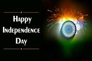 Happy Independence Day of India HD Desktop Wallpaper Background