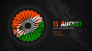India Independence Day 4K Wallpaper