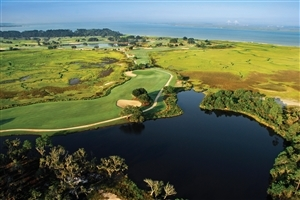 Beautiful Sea Island Golf Course United States Wallpaper