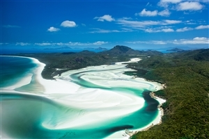 Beautiful Whitsunday Islands in Australia Wallpaper