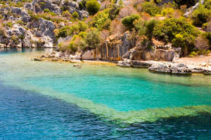 Kekova Shapely Island in Turkey Country Travel HD Photos