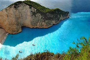 Zakynthos Greek Island Free Wallpaper
