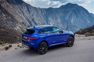 Blue Jaguar F Pace 2017 Car HD Wallpaper