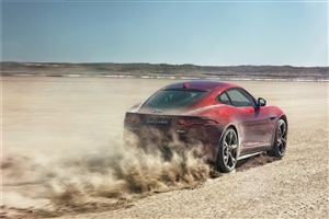 Jaguar F Type Coupe Car HD Photo Background