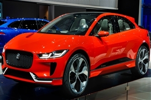 Jaguar I Pace Red Car