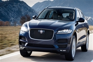 New 2018 Jaguar F Pace Car