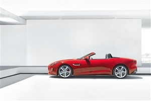Red Convertible 2 Seater Jaguar Luxury Car Photos