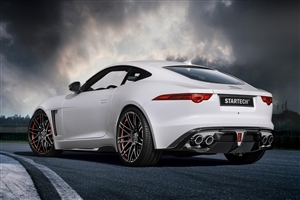 White Jaguar Car HD Pics