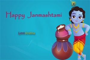 Happy Krishna Janmashtami HD Wallpapers