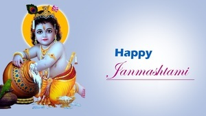 Krishna Happy Janmashtami Wallpaper