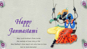 Wish You Happy Krishna Janmashtami Superb Pic