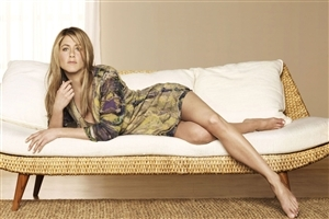 Jennifer Aniston Photoshoot on bed
