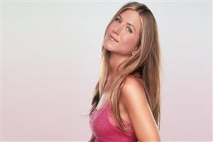 Jennifer Aniston in Pink Top