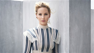 Jennifer Lawrence Actress Beautiful 4K Wallpaper