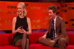 Jennifer Lawrence During TV Interview Photo
