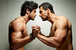 Actors John Abraham and Vidyut Jamwal 6 Pack Body HD Wallpapers