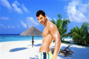 John Abraham Body Builder Photo