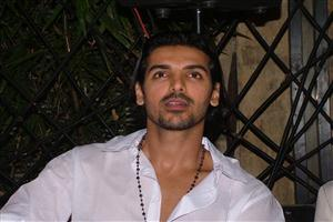 John Abraham in White Shirt