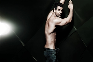 Six Pack Body of John Abraham Actor Photo