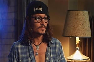 Johnny Depp in Movie Scene Images