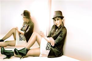 Kareena Kapoor in Black Coat and Cap