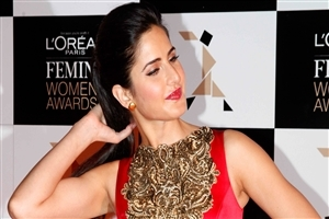 Beautiful Katrina Kaif in Red Lips