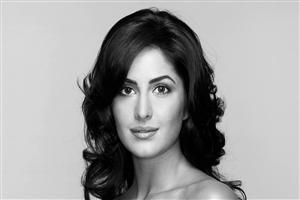 Black and White Pic of Katrina Kaif