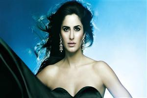 Hindi Heroin Katrina Kaif in Black