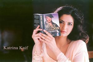 Katrina Kaif Read Book