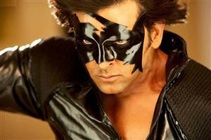 Hrithik Roshan wear Mask in Krrish 3