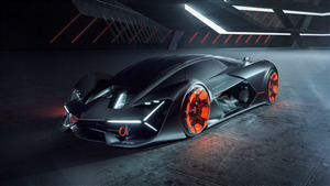2019 Superb Car 4K Pic of Lamborghini Terzo Millennio