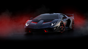 4K Car Wallpaper of 2019 Lamborghini SC18 Alston