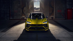 4K Wallpaper of Lamborghini Urus Esteso Novitec 2019 Car