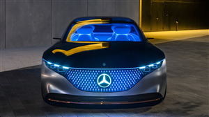 5K Wallpaper of 2019 Mercedes Benz Vision Eqs Electric Cars