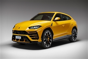Latest 2018 Lamborghini Urus Yellow Car