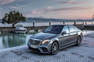 Latest 2018 Mercedes Benz S Class Car