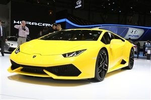 New Yellow Lamborghini Huracan 2015 HD Car Wallpaper