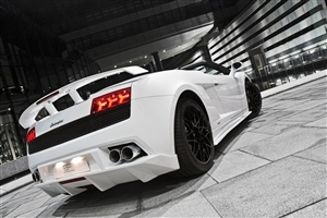 White Lamborghini Gallardo Car HD Wallpapers