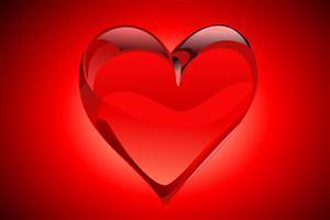 Big Red Heart Wallpaper Free Download