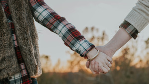 Couple with Holding Hands HD Images