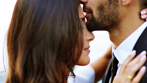 Head Kiss by Couple HD Pics